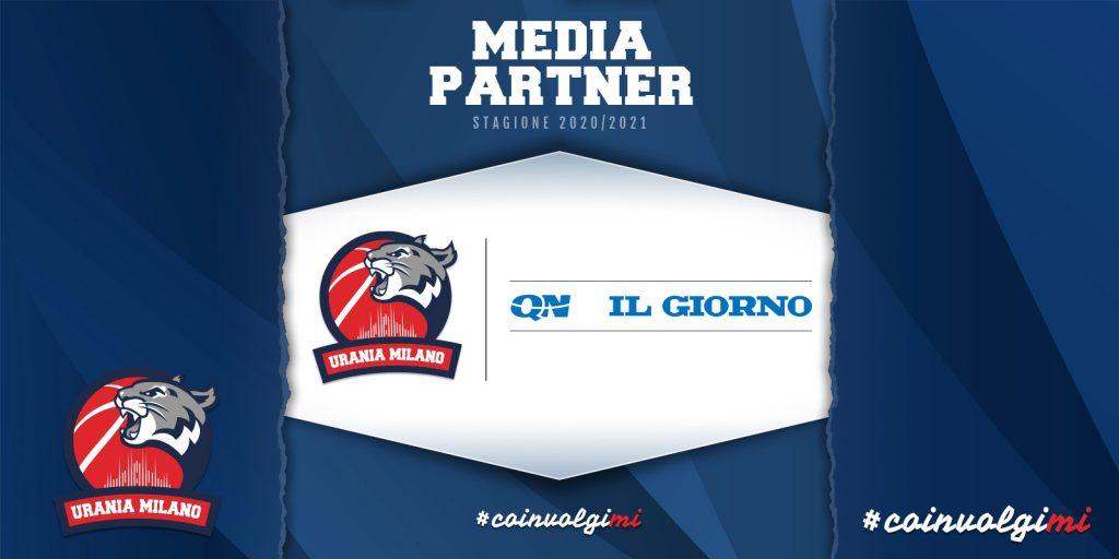QN IL GIORNO Media Partner di Urania per la Stagione 20/21