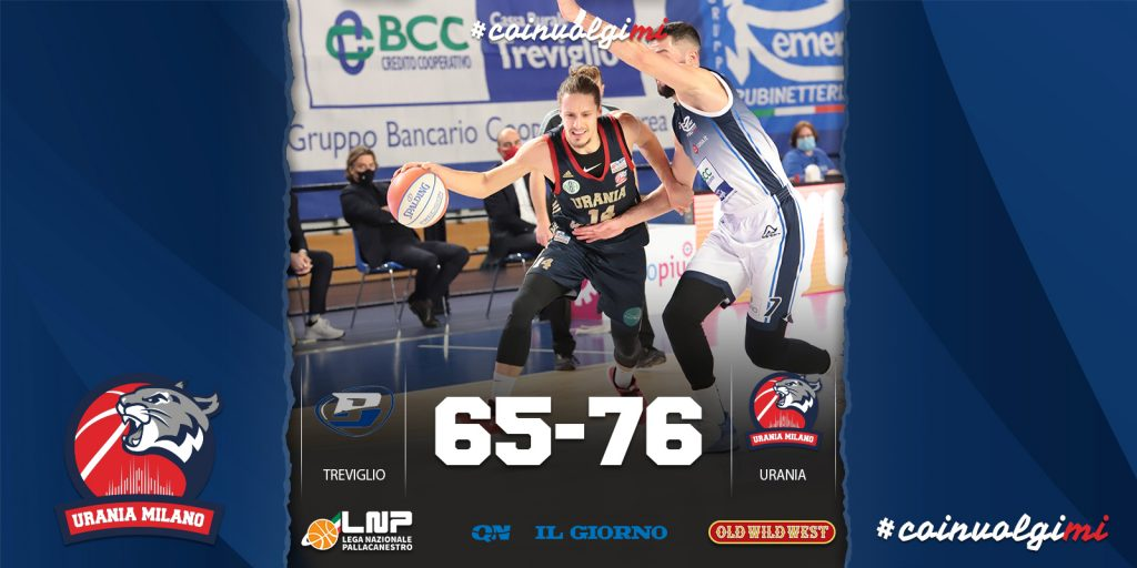 Turbo Wildcats nel finale, Urania passa a Treviglio, 65-76