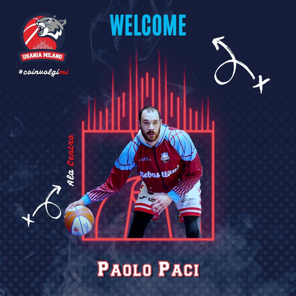 Urania riempie l'area, Paolo Paci nuovo Wildcats