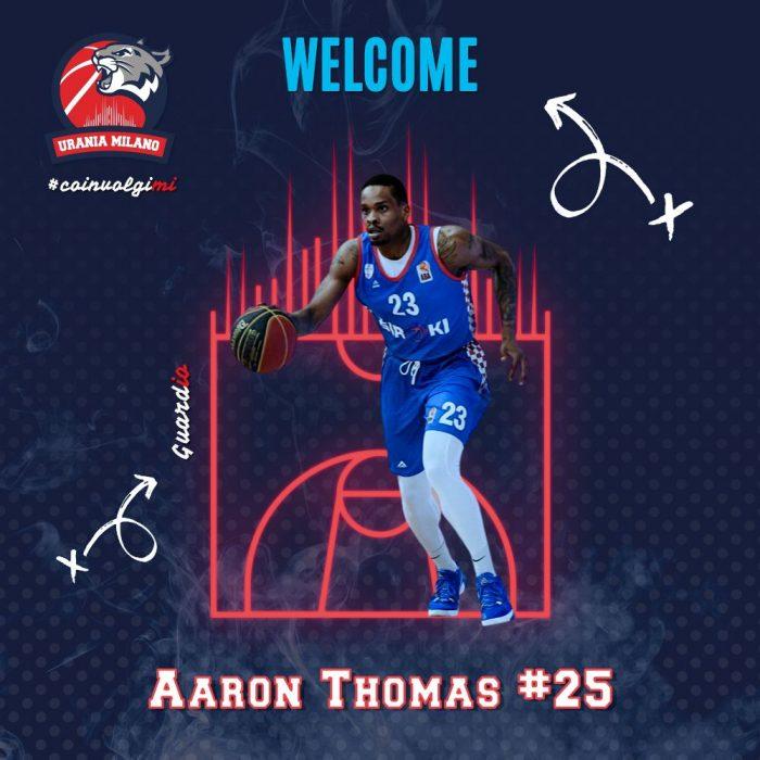 Direttamente da Cincinnati, Aaron Thomas atterra sul pianeta Urania