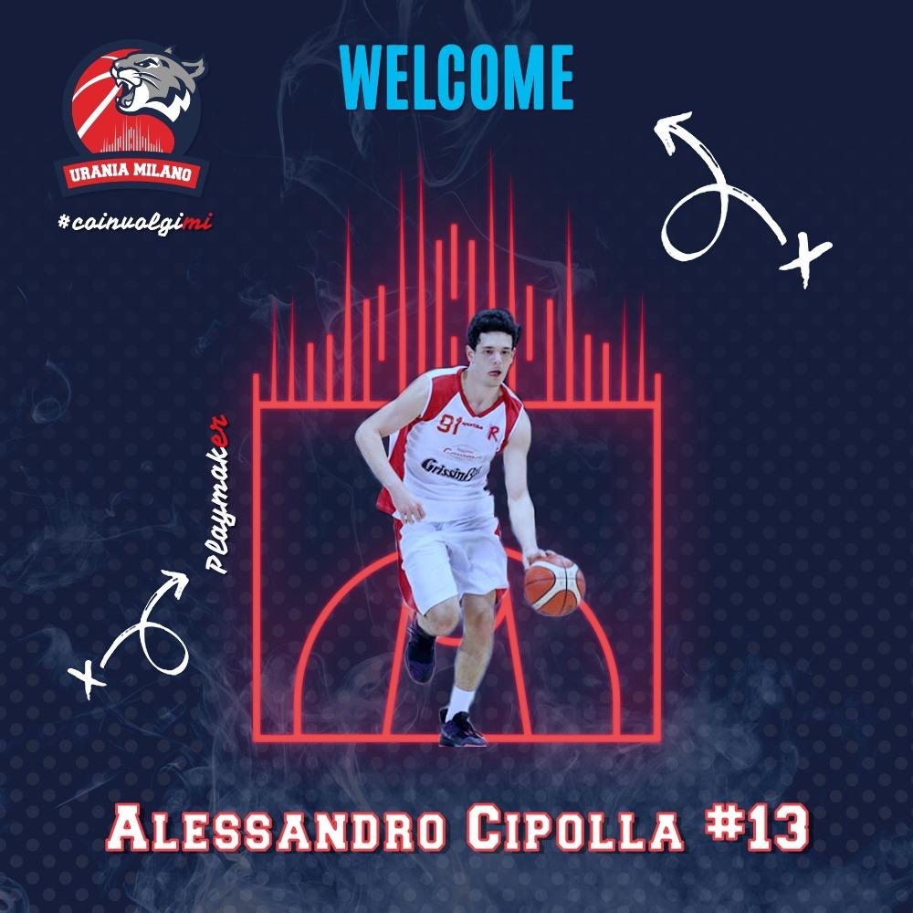 Alessandro Cipolla è il primo innesto Under della stagione 21/22