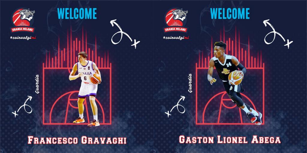 Gravaghi e Abega completano il roster dei Wildcats