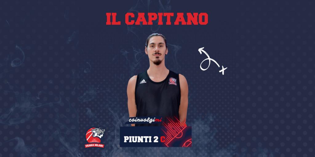 Giorgio Piunti nuovo Capitano dei Wildcats