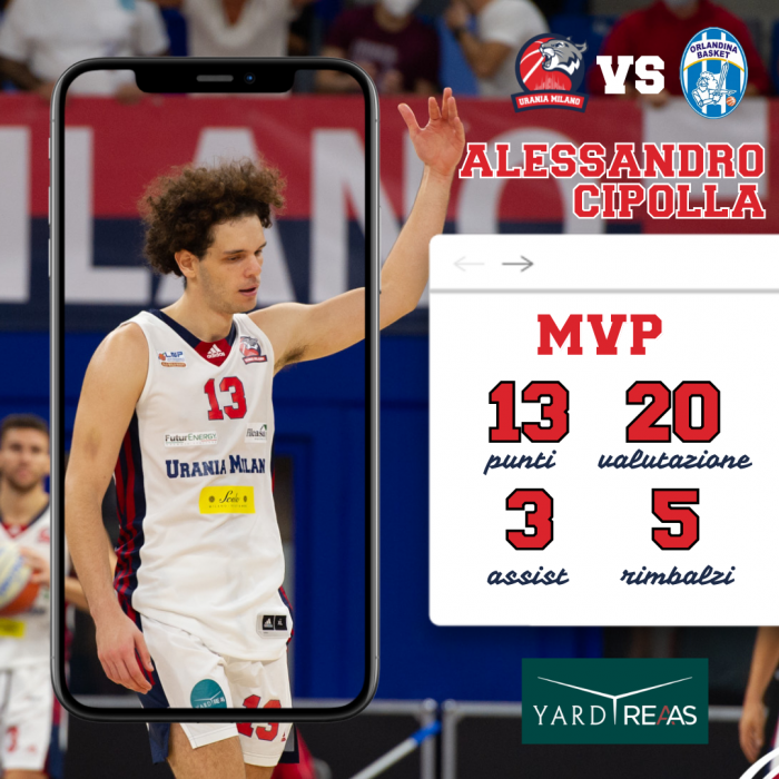 Alessandro Cipolla MVP by YARD REAAS